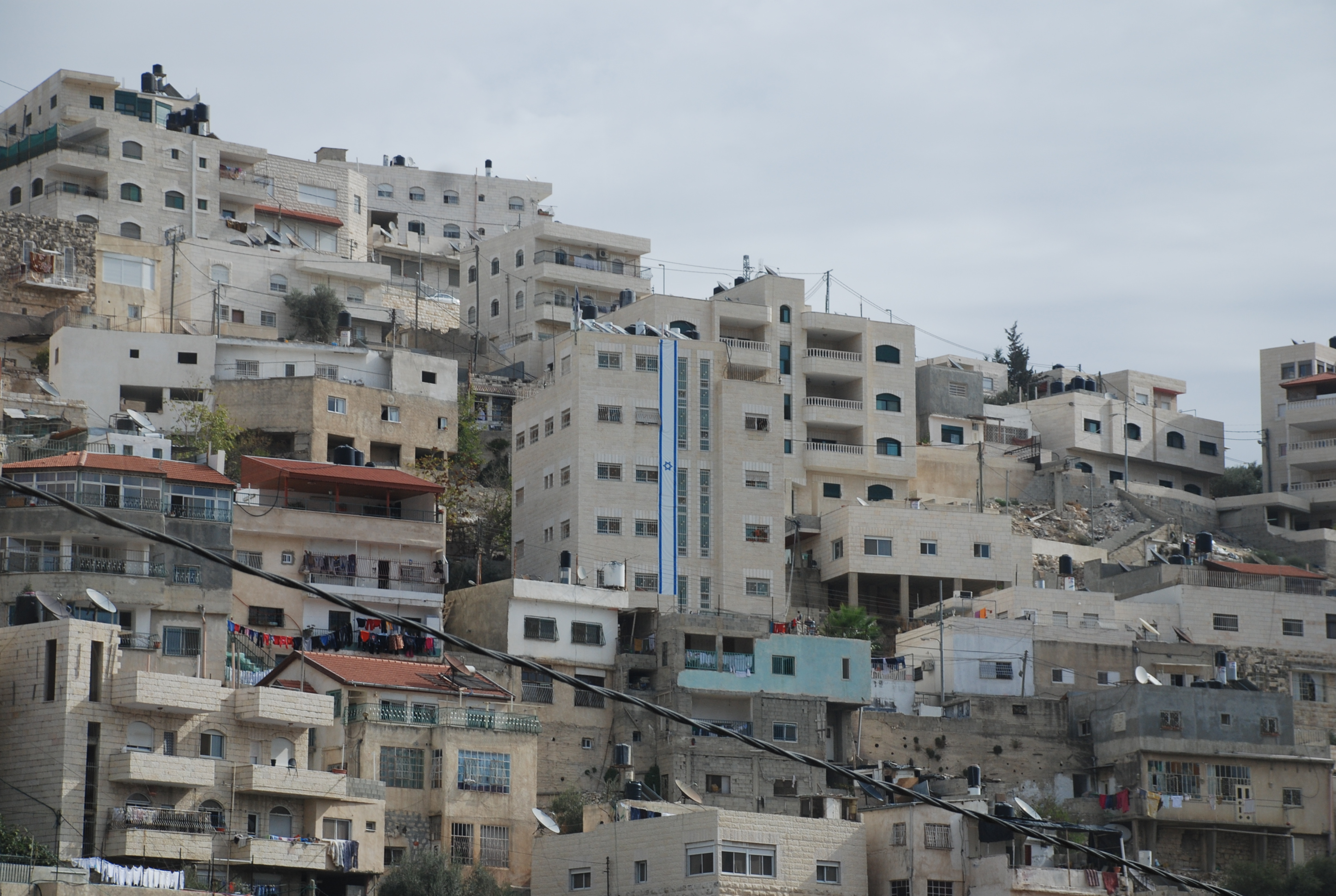 Jewish Building in the Heart of Silwan (Ernie Moore)