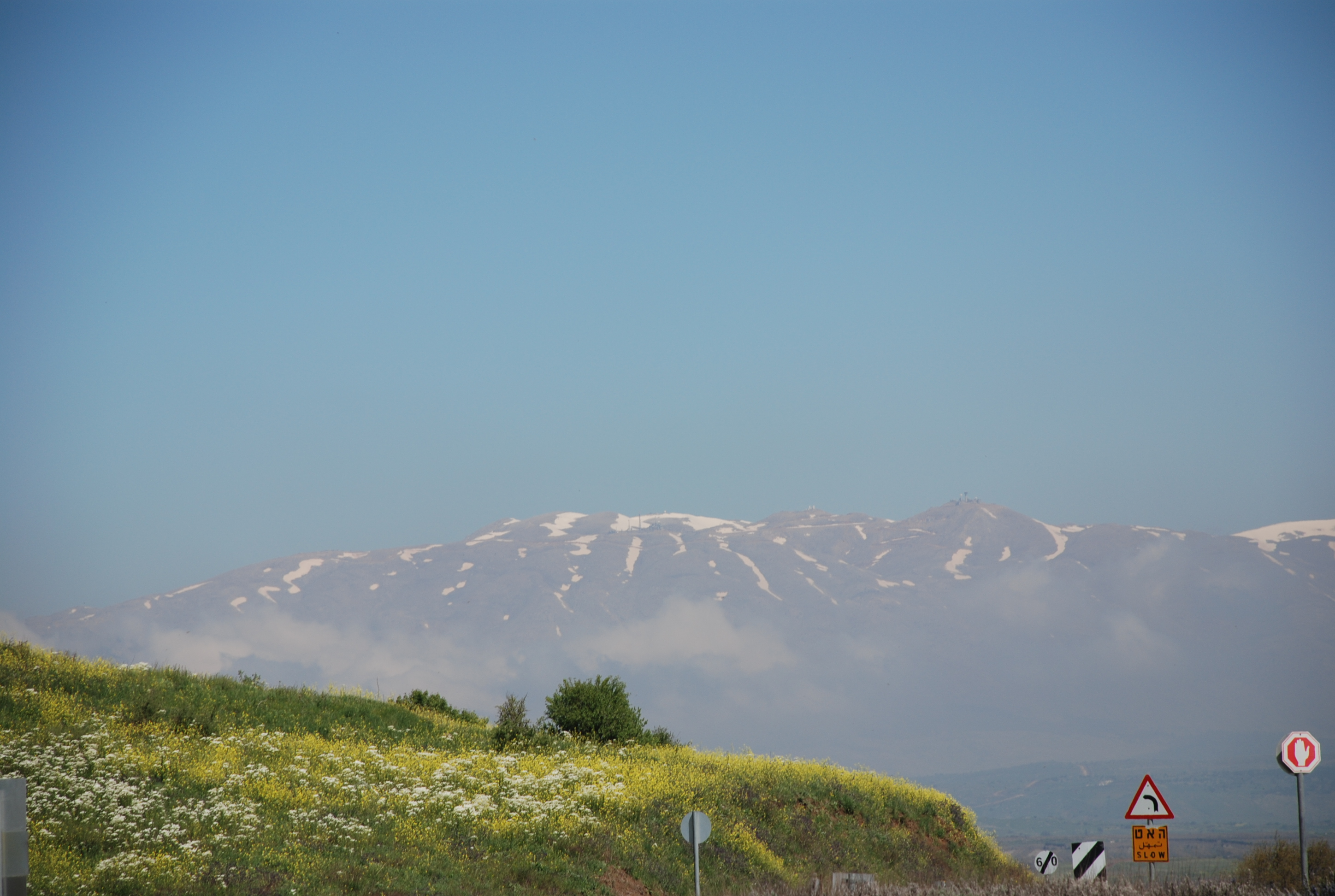 Mt. Hermon in the Spring (Ernie Moore)